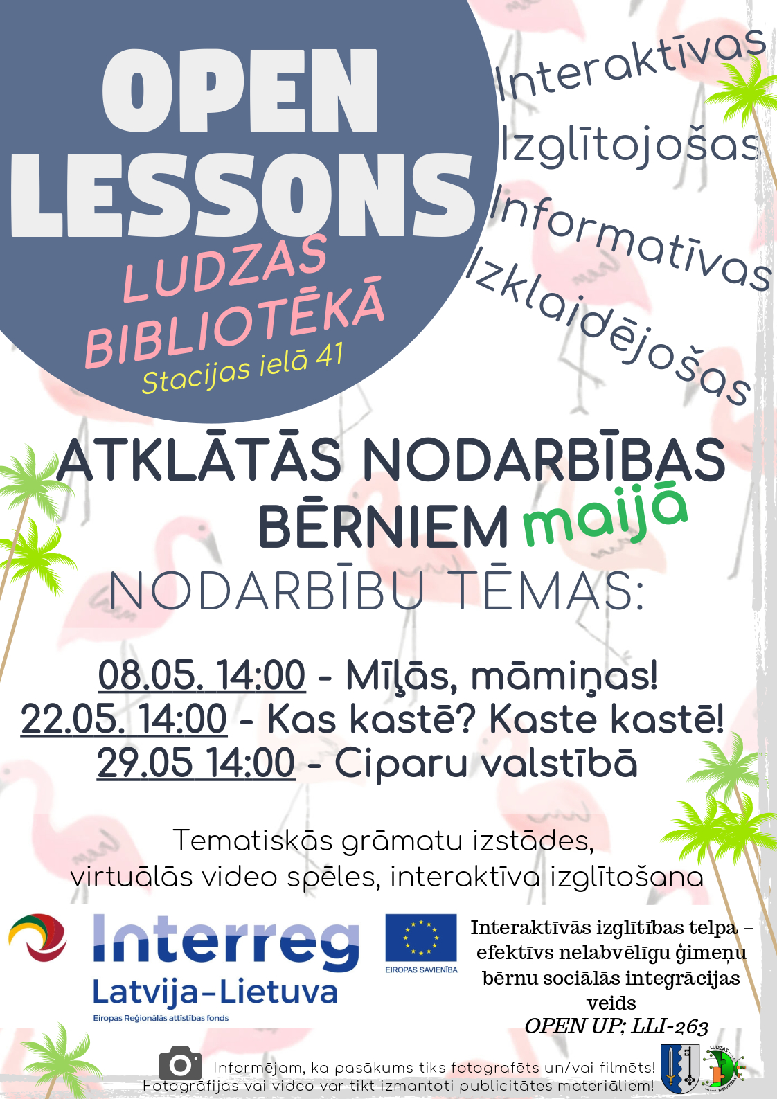 Open lesson May