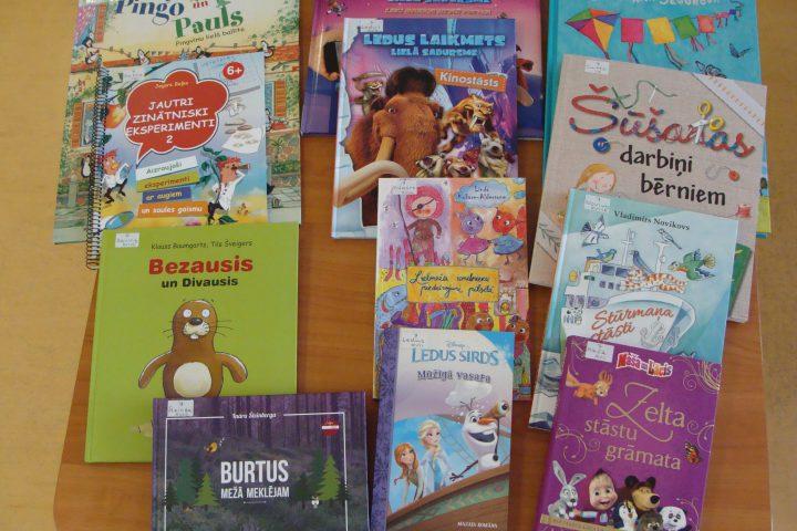 Jaunās grāmatas bērnu nodaļā – 2016.g. augustā