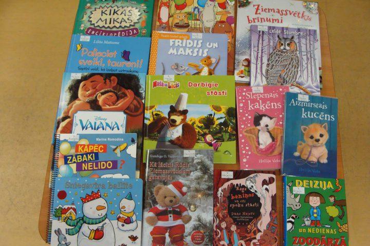 Jaunās grāmatas bērnu nodaļā – 2017.g. janvārī