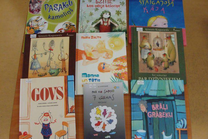 Jaunās grāmatas bērnu nodaļā – 2017.g. februārī