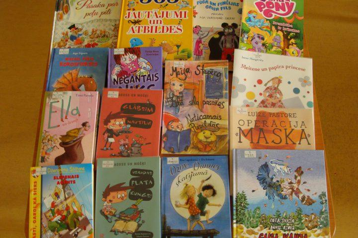 Jaunās grāmatas bērnu nodaļā – 2017.g. martā