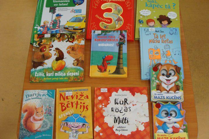 Jaunās grāmatas bērnu nodaļā – 2017.g. maijā