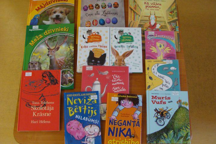 Jaunās grāmatas bērnu nodaļā – 2017.g. jūnijā
