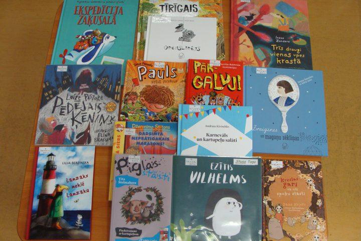 Jaunās grāmatas bērnu nodaļā – 2017.g. jūlijā