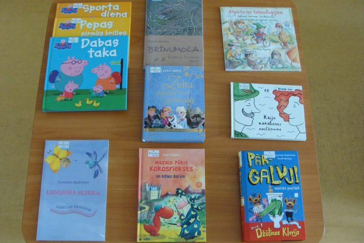 Jaunās grāmatas bērnu nodaļā – 2017.g. augustā
