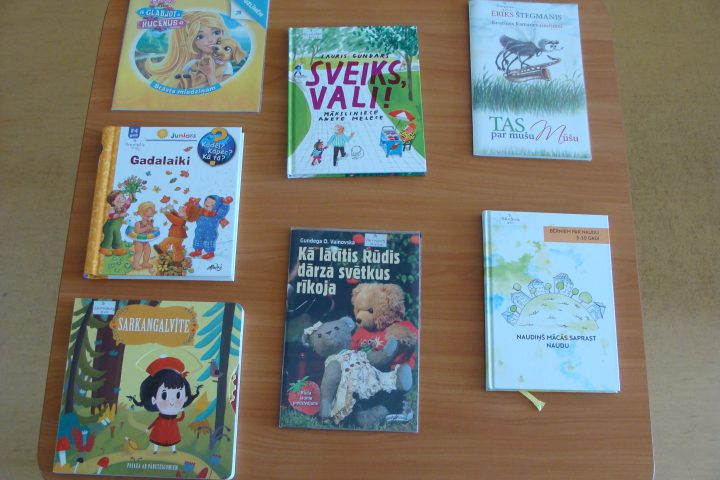 Jaunās grāmatas bērnu nodaļā – 2017.g. septembrī