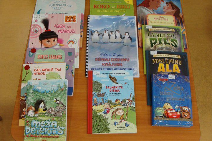 Jaunās grāmatas bērnu nodaļā – 2017.g. oktobrī
