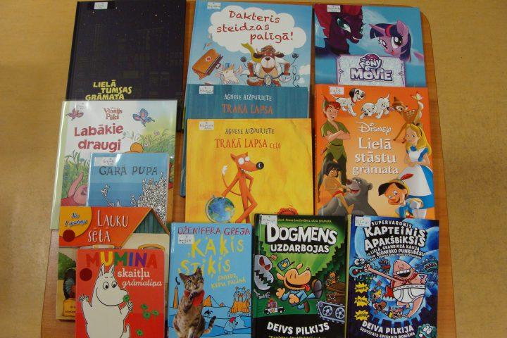 Jaunās grāmatas bērnu nodaļā – 2017.g. novembrī