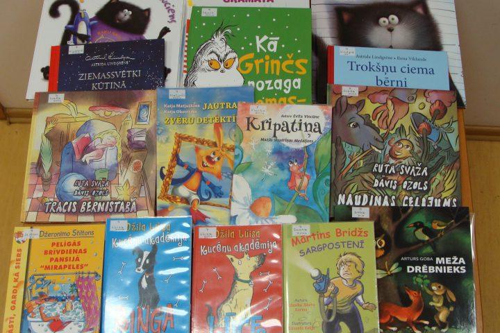 Jaunās grāmatas bērnu nodaļā – 2017.g. decembrī