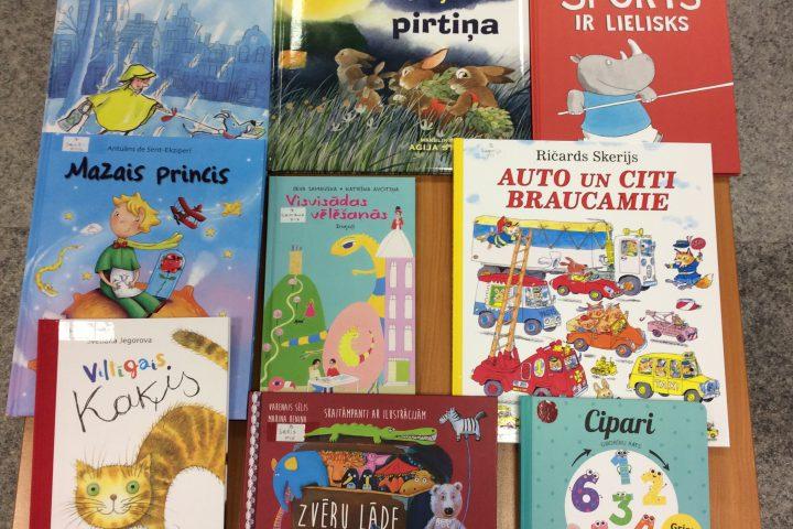 Jaunās grāmatas bērnu nodaļā 2018.g. novembrī