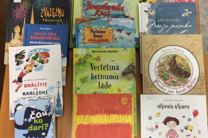 Jaunās grāmatas bērnu nodaļā 2019.g. janvārī