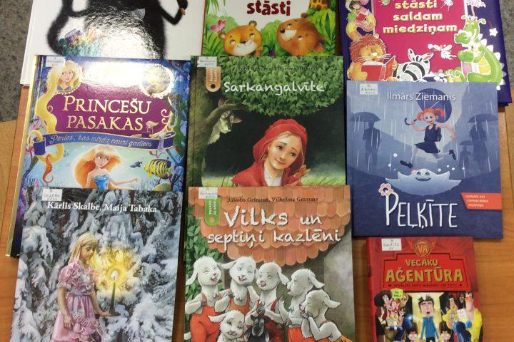 Jaunās grāmatas bērnu nodaļā 2019.g. februārī