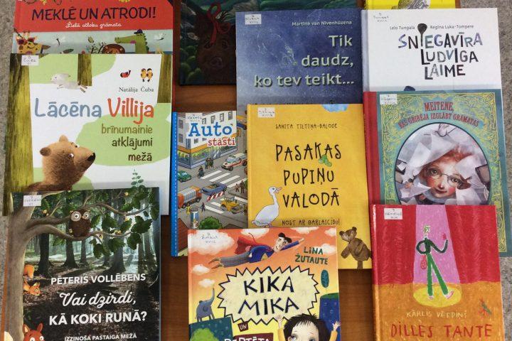 Jaunās grāmatas bērnu nodaļā 2019.g. martā