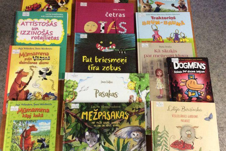 Jaunās grāmatas bērnu nodaļā 2019.g. maijā