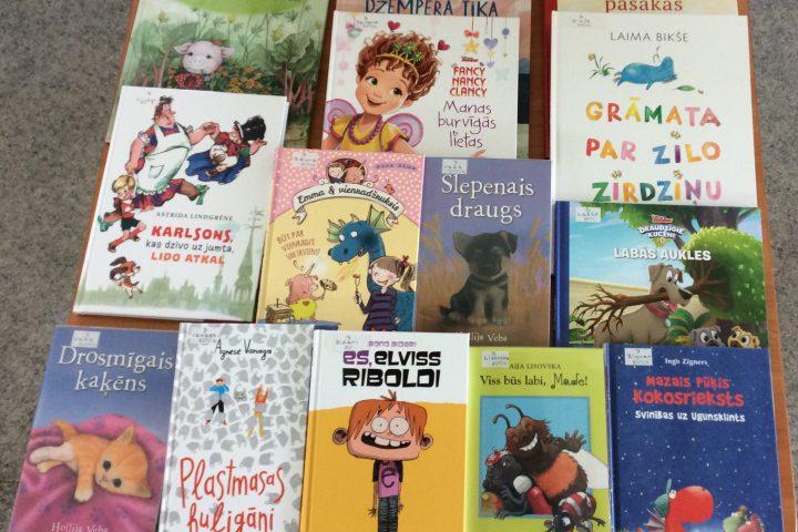 Jaunās grāmatas bērnu nodaļā 2019.g. jūnijā