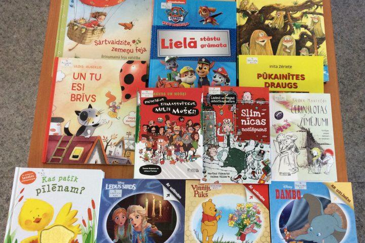 Jaunās grāmatas bērnu nodaļā 2019.g. oktobrī