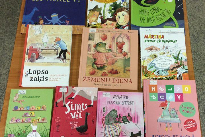 Jaunās grāmatas bērnu nodaļā 2019.g. novembrī
