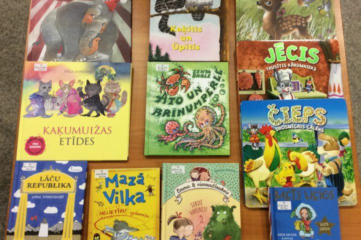Jaunās grāmatas bērnu nodaļā 2020.g. februārī
