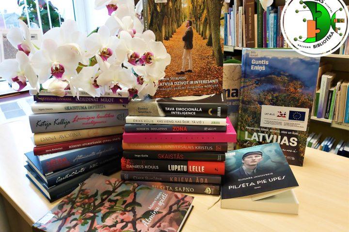 1. februārī jauno grāmatu diena Ludzas bibliotēkā