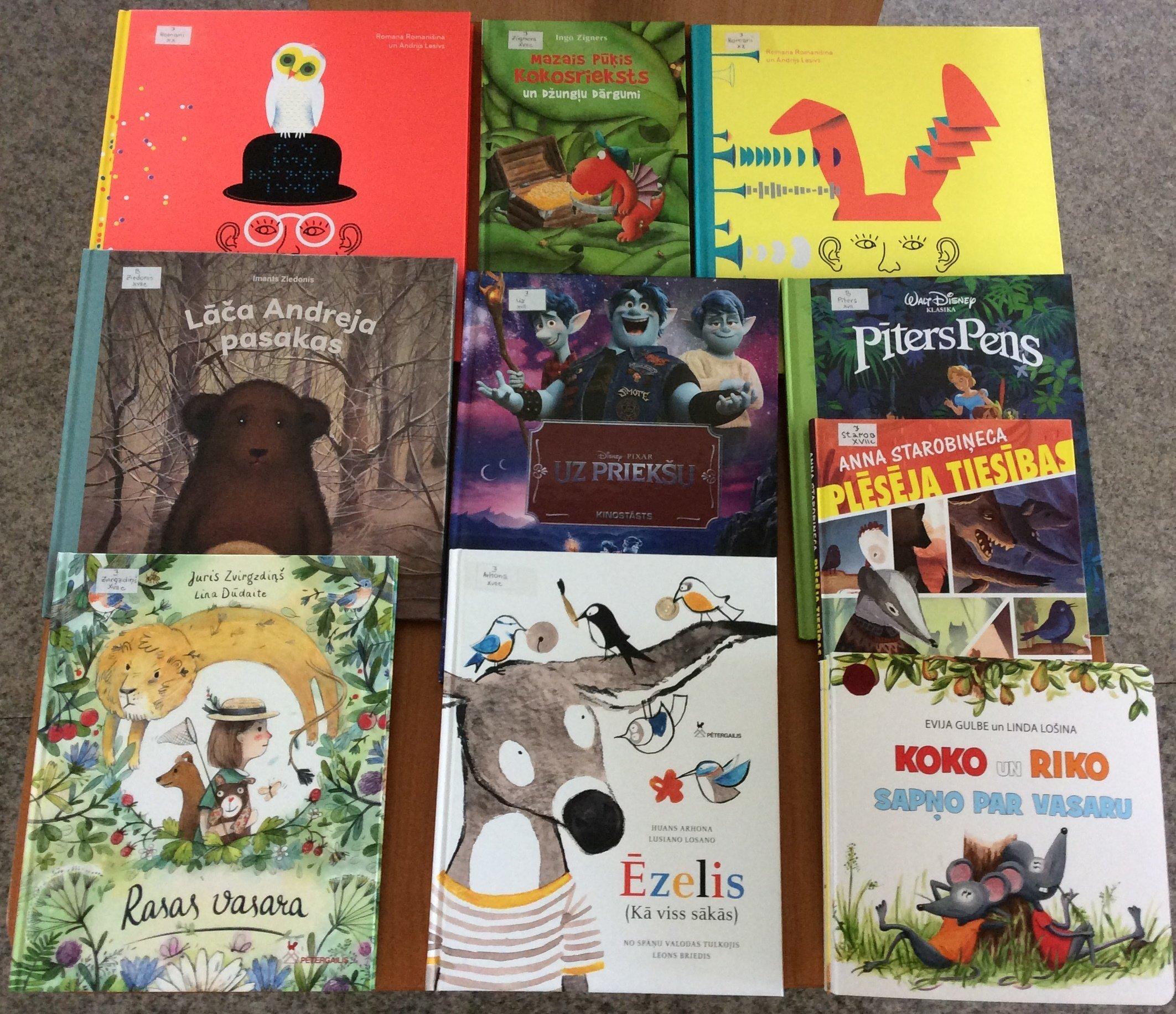 Jaunās grāmatas bērnu nodaļā 2020. gada jūnijā