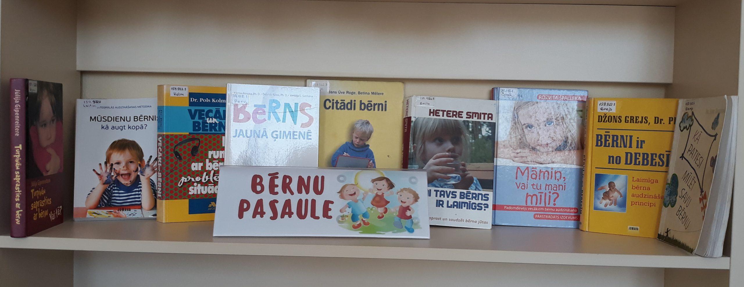 Grāmatu izstādes Ludzas bibliotēkā