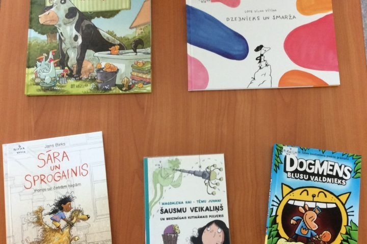 Jaunās grāmatas bērnu apkalpošanas nodaļā 2020.gada jūlijā