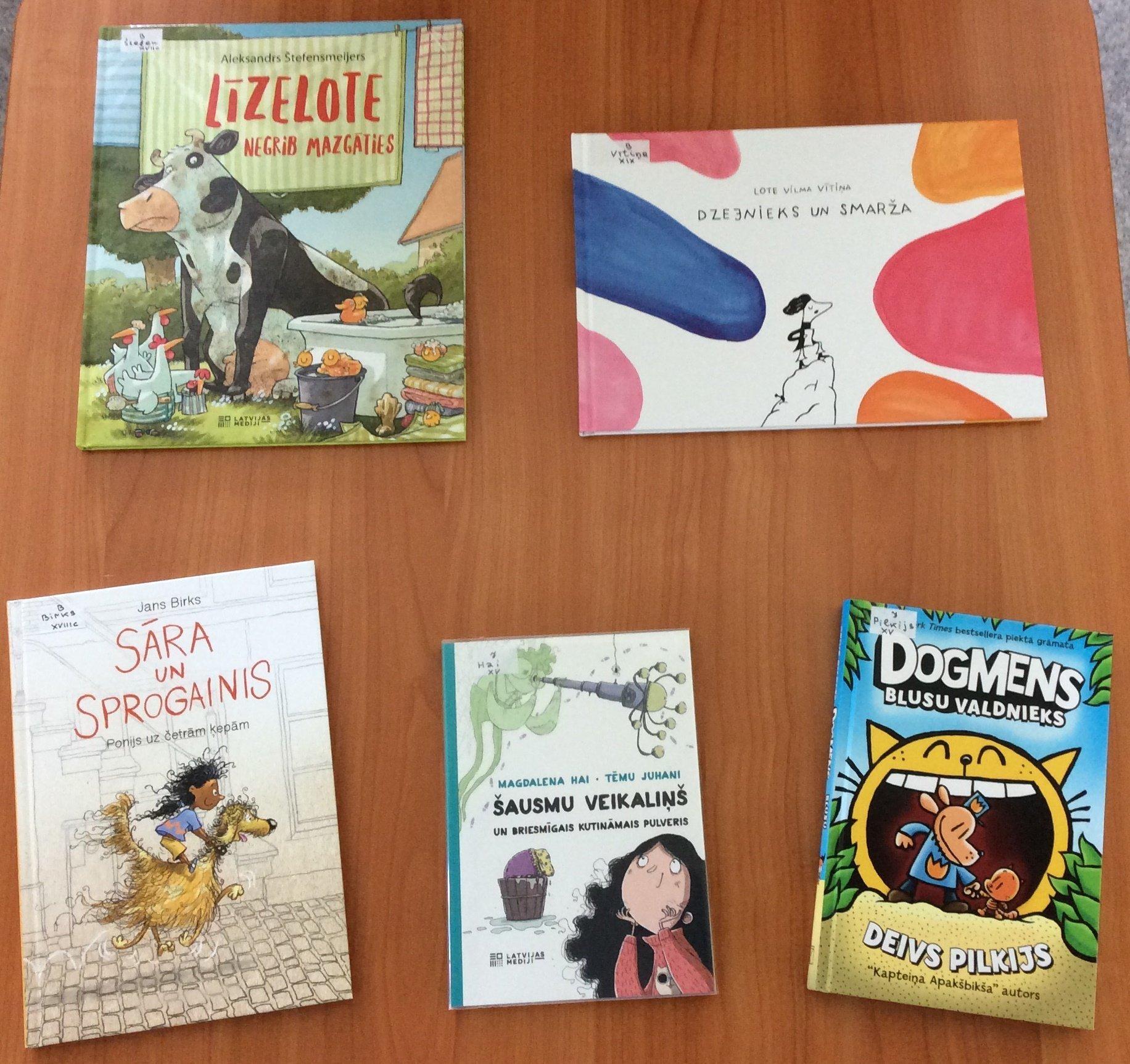 Jaunās grāmatas bērnu nodaļā 2020.gada jūlijā