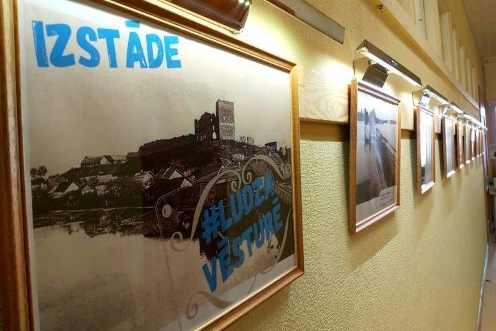 Выставка «#Лудза в истории» («#Ludza vēsturē»)