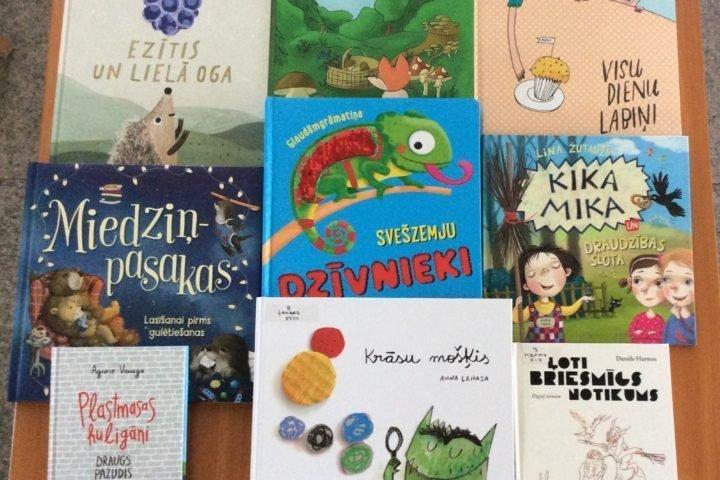 Jaunās grāmatas bērnu nodaļā 2020.gada augustā