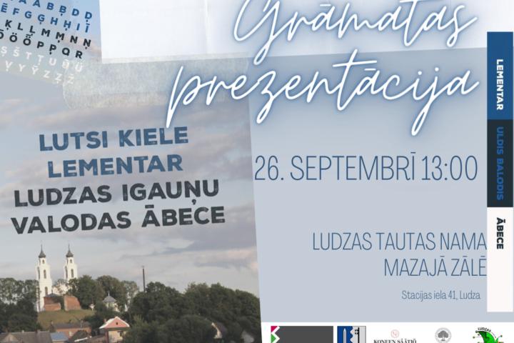 Презентация книги «Ludzas igauņu valodas ābece»