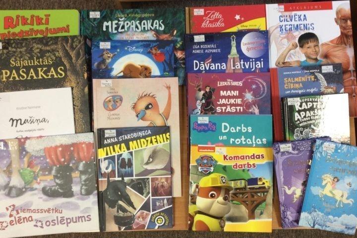 Jaunās grāmatas bērnu nodaļā 2020. gada janvārī