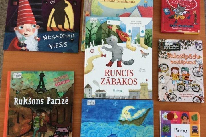 Jaunās grāmatas bērnu nodaļā 2020.gada martā