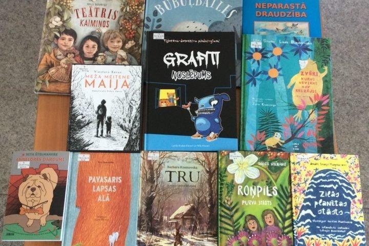 Jaunās grāmatas bērnu nodaļā 2020. gada maijā