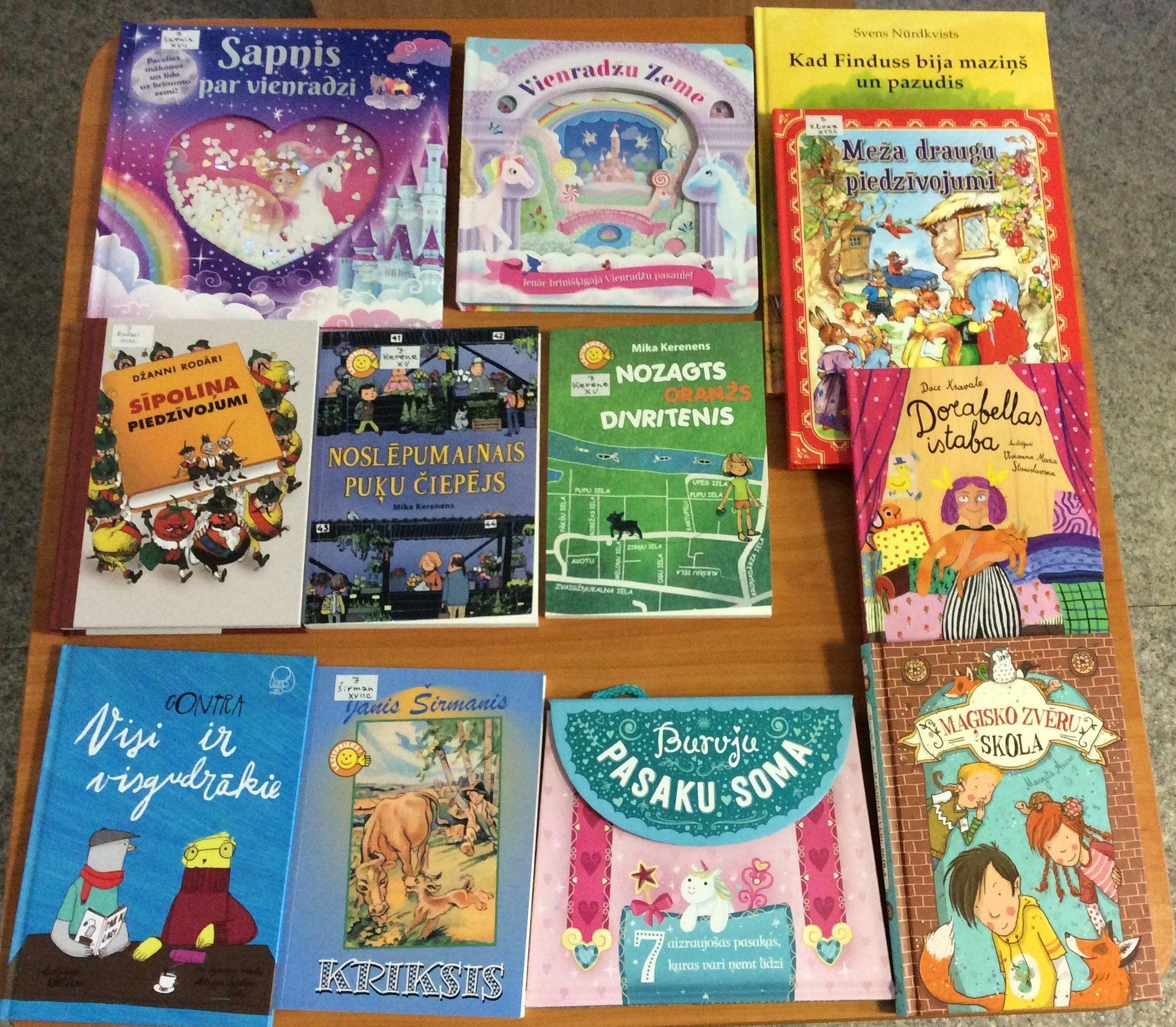 Jaunās grāmatas bērnu nodaļā 2020.gada oktobrī