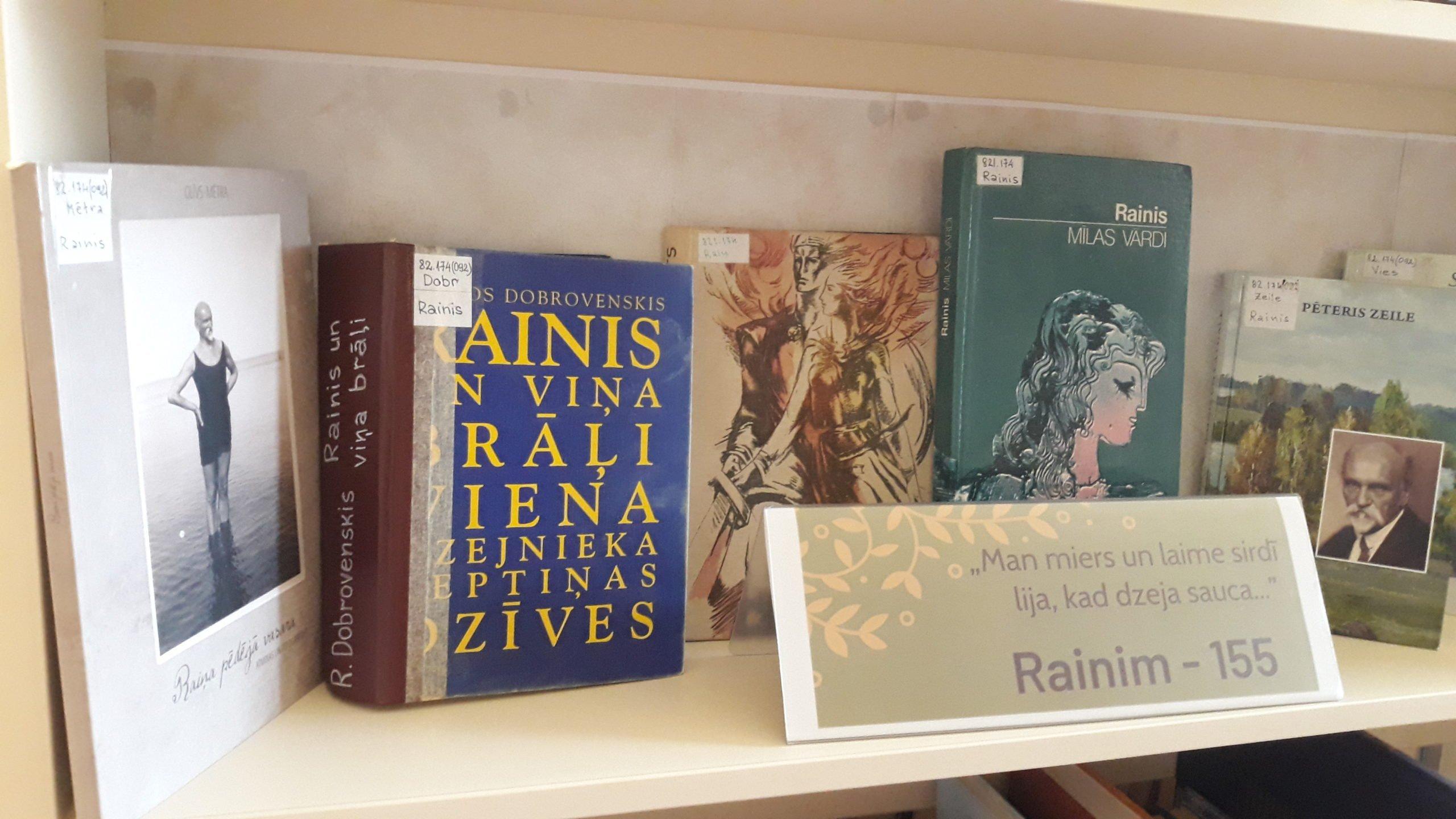 Grāmatu izstādes Ludzas bibliotēkā septembrī