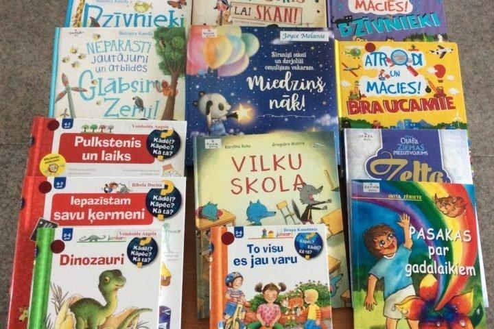 Jaunās grāmatas bērnu nodaļā 2020.gada novembrī