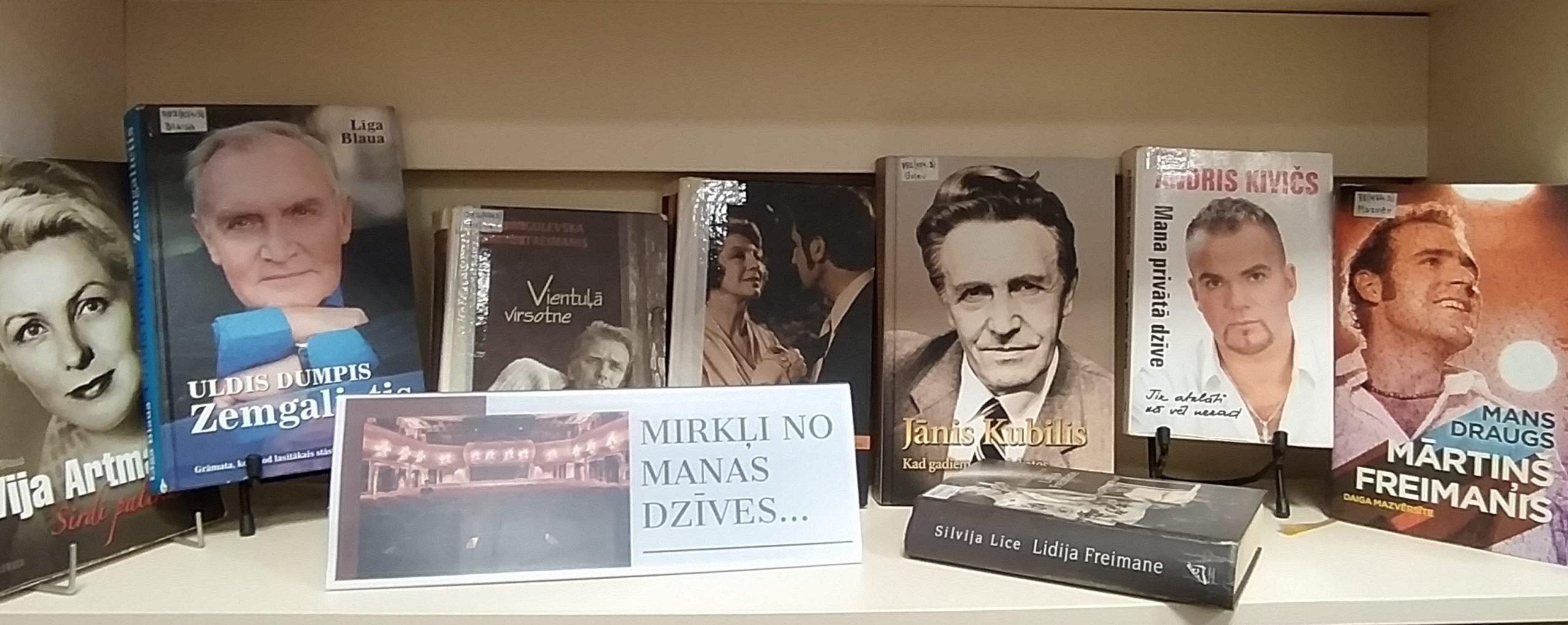 Grāmatu izstādes Ludzas bibliotēkā novembrī