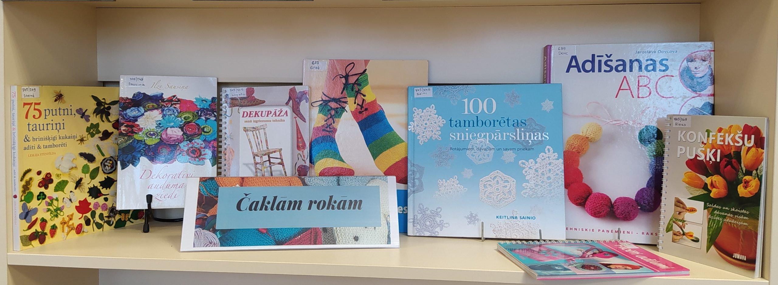 Grāmatu izstādes Ludzas bibliotēkā decembrī