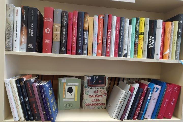"""Grāmatas projektā """"Vērtīgo grāmatu iepirkums Latvijas publiskajām bibliotēkām"""""""