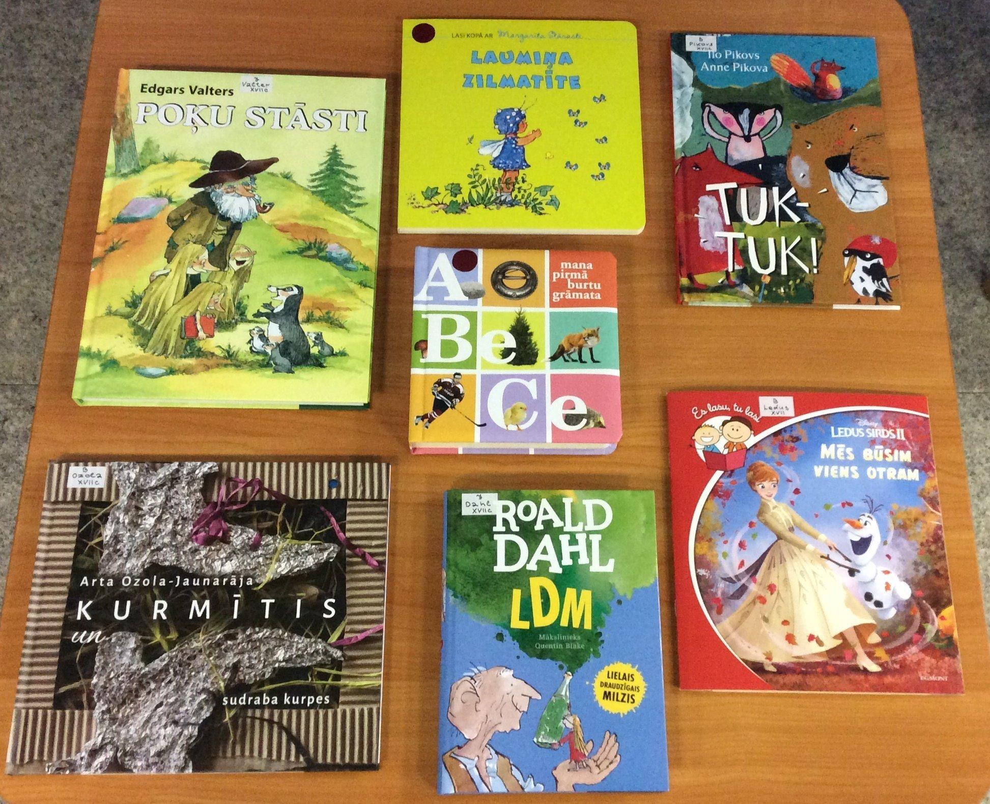 Jaunās grāmatas bērniem 2021. gada janvārī