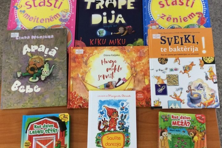 Jaunās grāmatas bērniem 2021.gada februārī