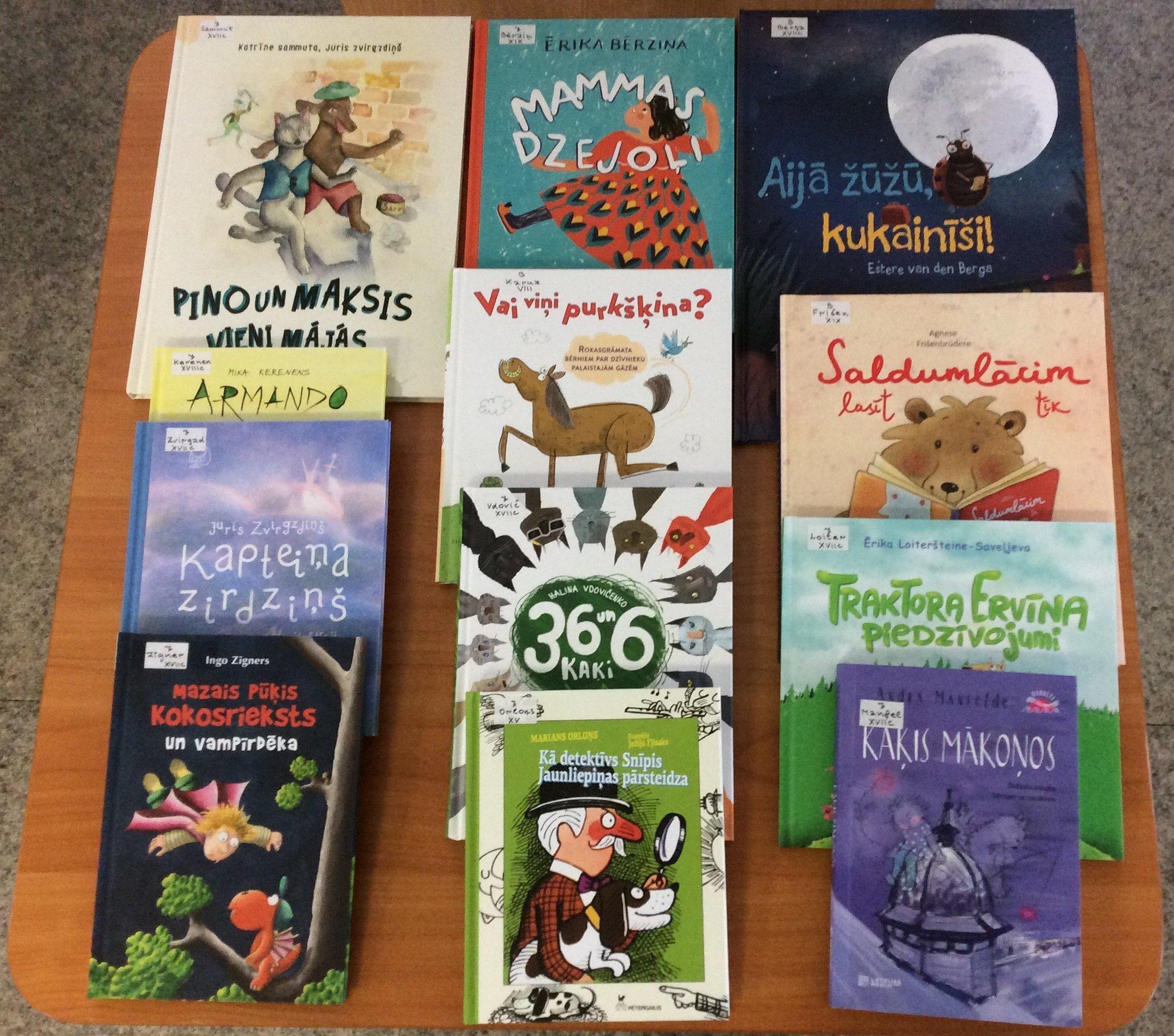 Jaunās grāmatas bērniem 2021.gada martā