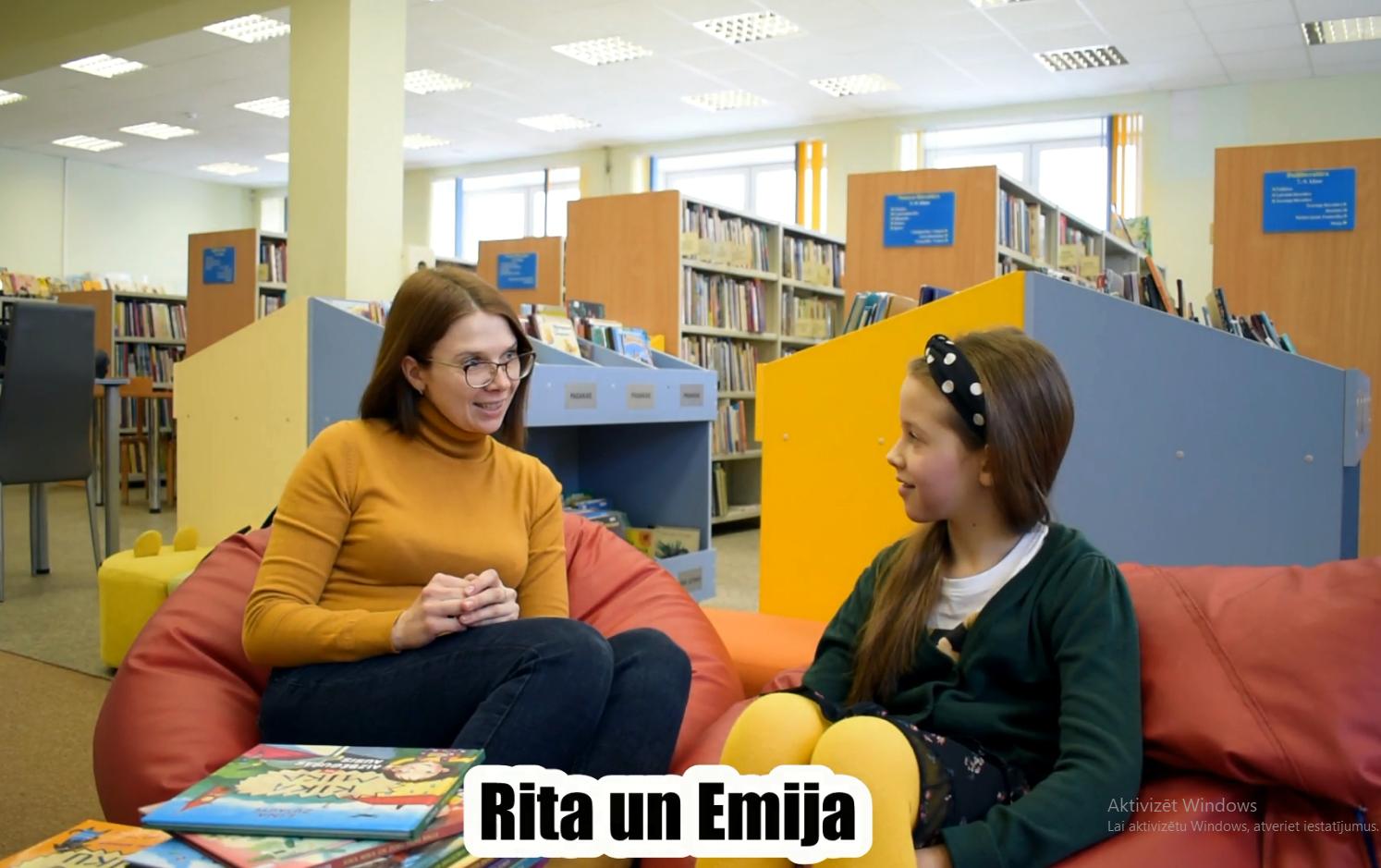 """Video """"Ģimenes lasīšanas stāsts"""""""