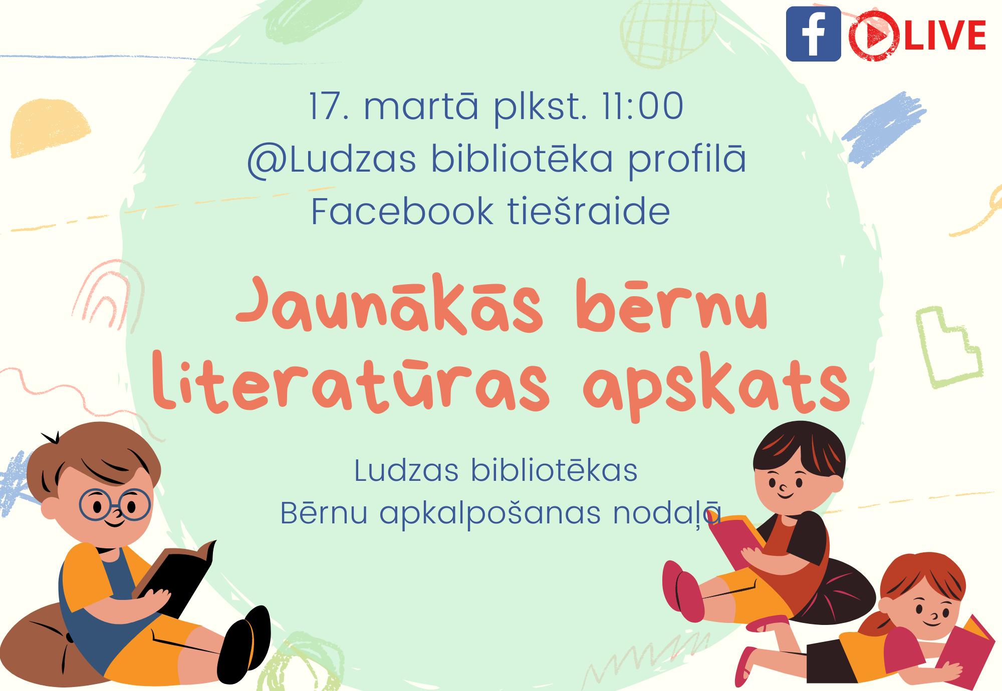 Jaunās bērnu literatūras apskats