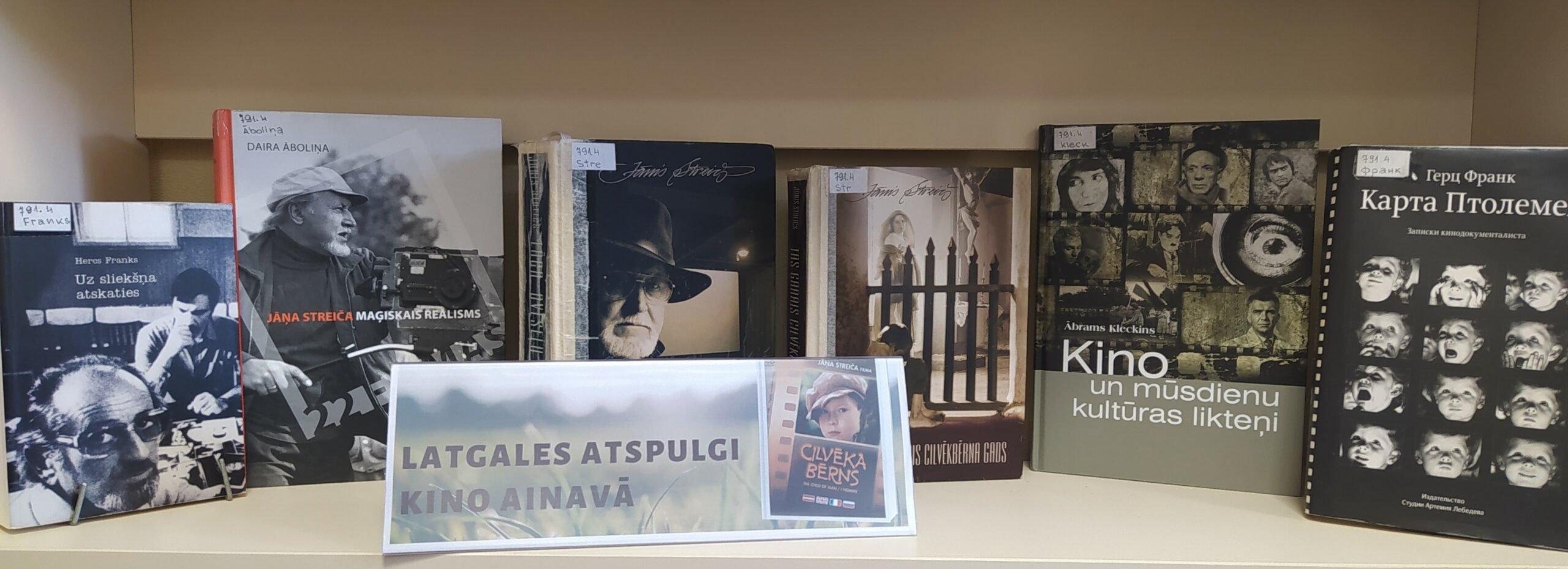 Grāmatu izstādes Ludzas bibliotēkā aprīlī
