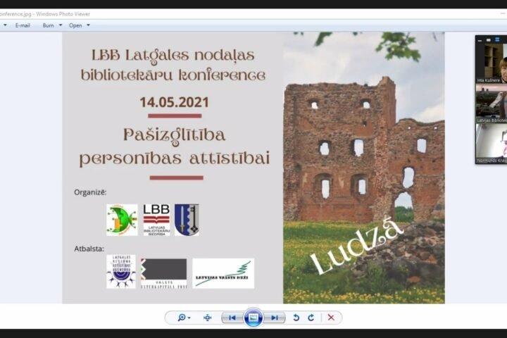 Конференция Латгальского отделения Латвийской ассоциации библиотекарей «Самообразование для личного развития»