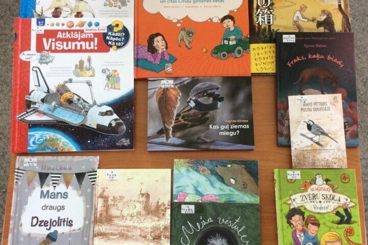 Jaunās grāmatas bērniem 2021.gada jūnijā