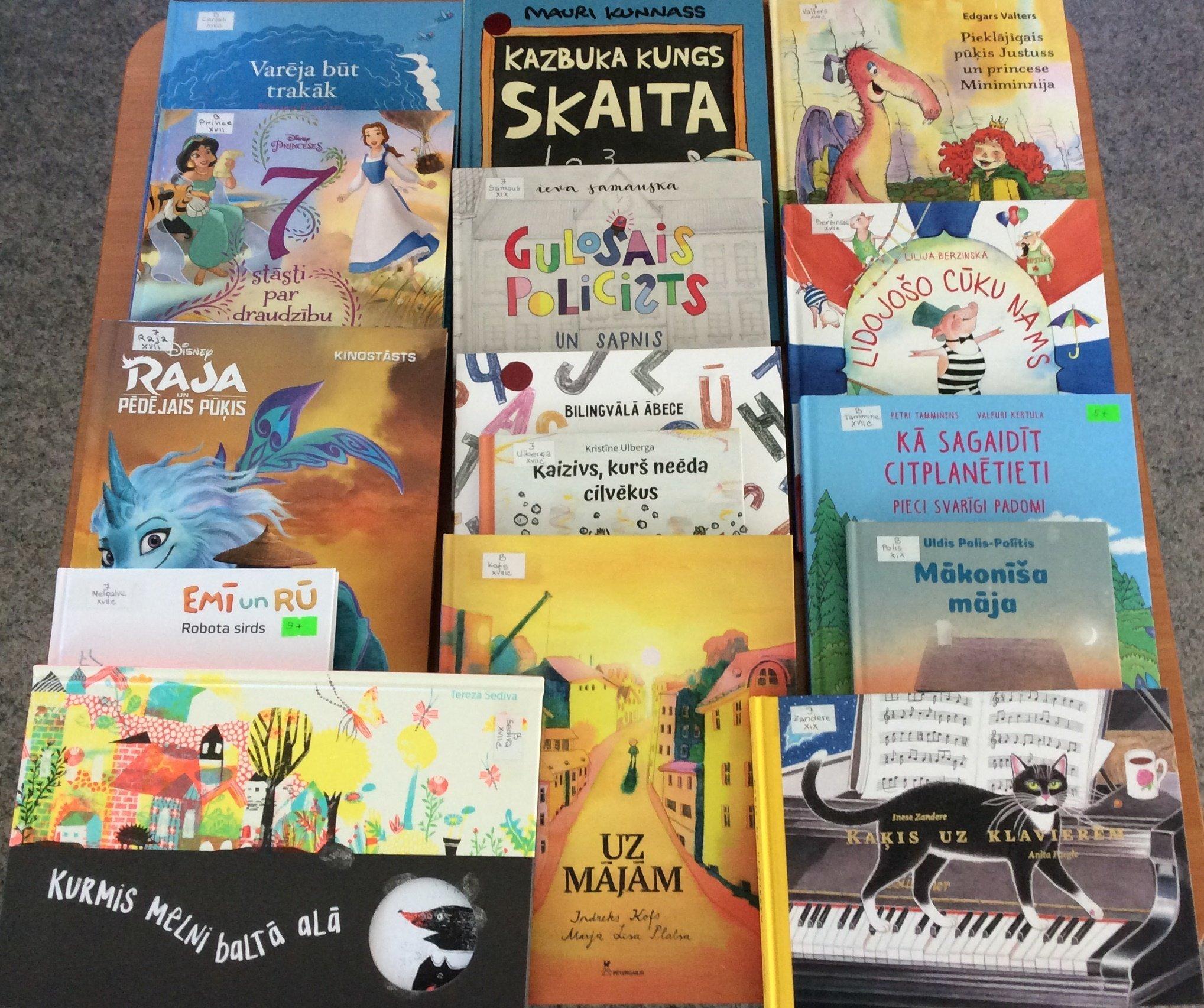 Jaunās grāmatas bērniem 2021. gada jūlijā