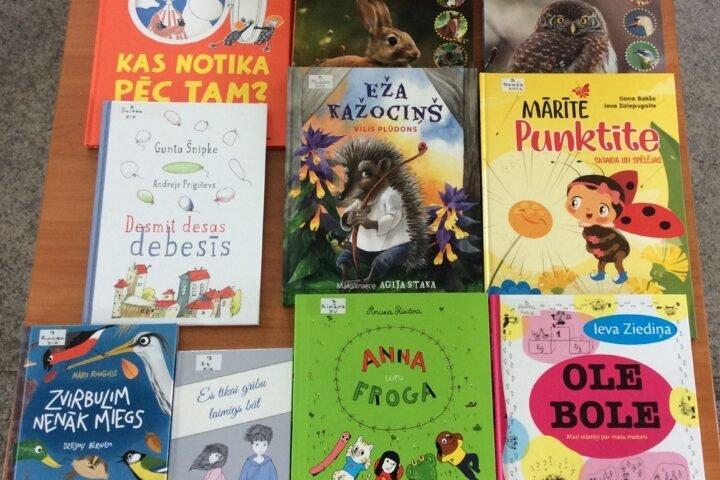 Jaunās grāmatas bērniem 2021.gada augustā