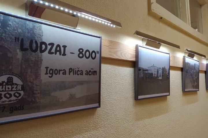 """Izstāde """"Ludzai – 800"""" Igora Pliča acīm"""